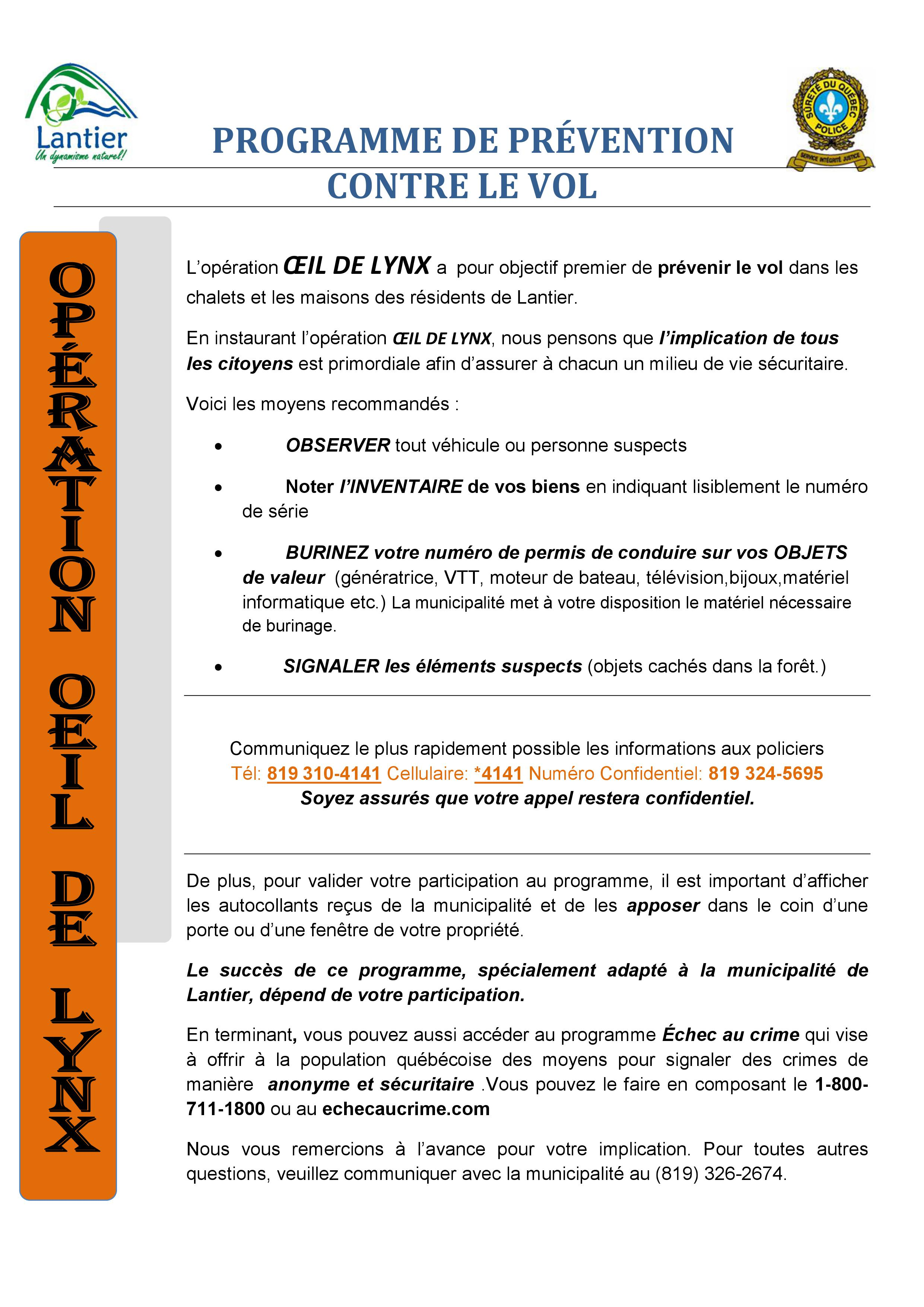 programme-prevention-vol-oeil-de-lynx-lantier
